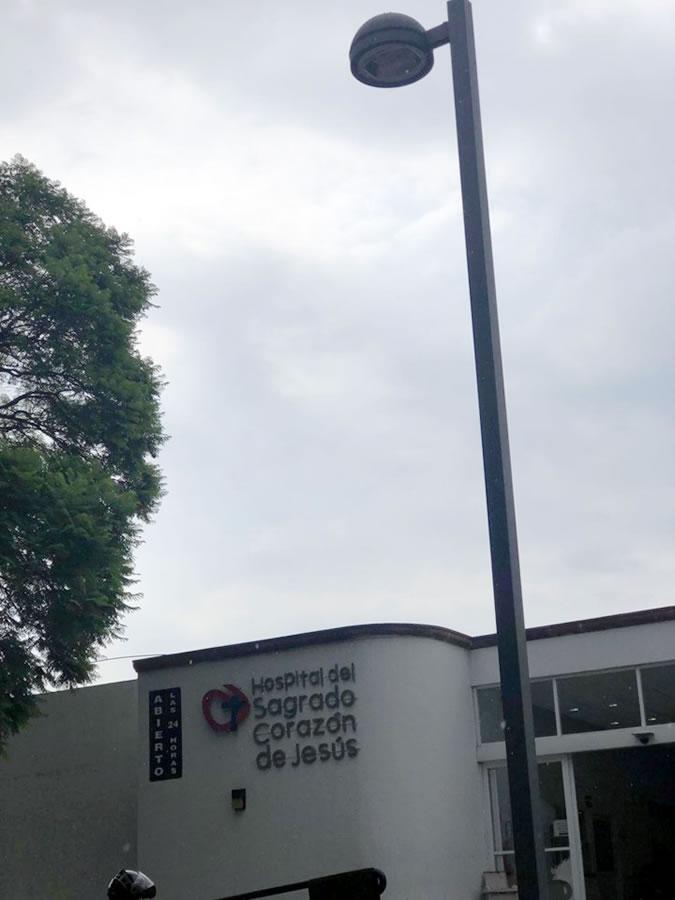 Hospital del Sagrado Corazón de Jesús - Diseño y fabricación de postes