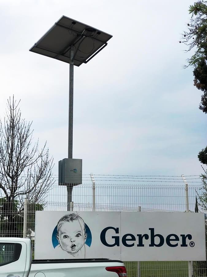 Gerber planta Querétaro - Diseño y fabricación de postes